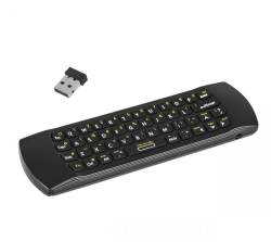 Quer KOM0834 Klawiatura bezprzewodowa z AIRMOUSE m.in. do Smart TV Android Dongle